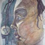 biro portrait sketch