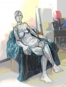 digital life drawing