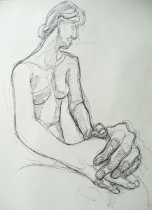 pen figure drawing