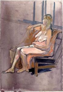 figure painting gouache