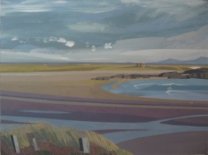 Anglesey landscape painting