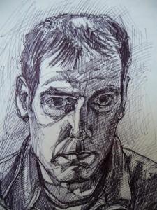 slef portrait biro