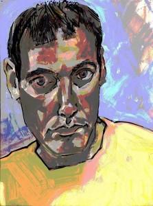 portrait acrylic paint